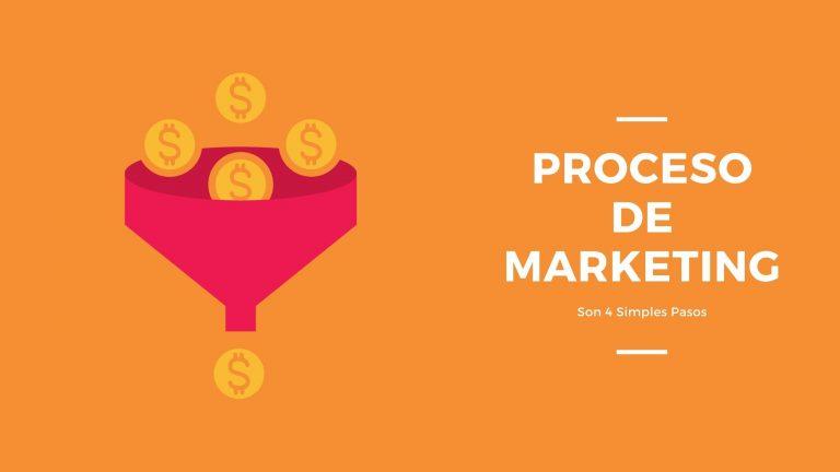 Proceso de Marketing: Son 4 Simples Pasos